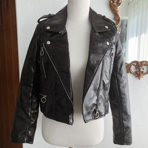 Lord & Taylor Faux Leather Jacket